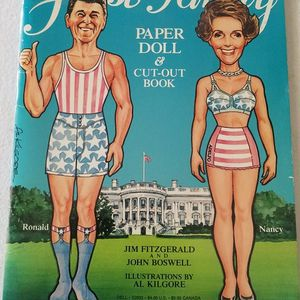 Vintage First Family Paper Dolls and Cut-Out Book for Sale in Brandon, FL