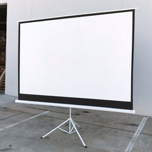 """(NEW) $70 Tripod Stand 100"""" Projector Screen 16:9 Ratio Projection Home Theater Movie for Sale in Whittier, CA"""