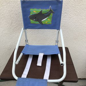 LITTLE KIDS FOLDING BEACH CHAIR WITH STRAPS for Sale in Rancho Santa Margarita, CA