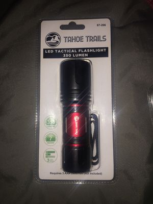 LED Tactical Flashlight 350 Lumen for Sale in East Wenatchee, WA