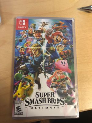 Super Smash Bros. Ultimate for Nintendo Switch for Sale in Inglewood, CA