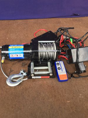 Electric tow winch for Sale in Fontana, CA