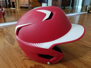 Easton Matte Red Z5 Youth Batting Helmet Grip 2T1 RDWH SKU 7 1/8 for Sale in Monterey Park, CA