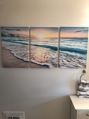 3 piece beach Painting for Sale in New Britain, CT