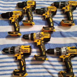 Brand New Hammer Drills And Normal Drills All Kind Of Models Dewalt 20volt for Sale in Tacoma, WA