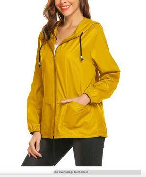Lightweight Waterproof Raincoat For Women Packable Outdoor Hooded Rain Jacket for Sale in Rancho Cucamonga, CA