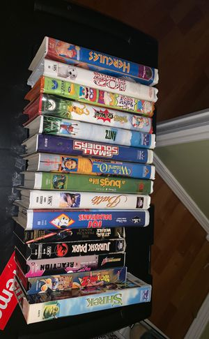 VHS movies for Sale in Paramount, CA