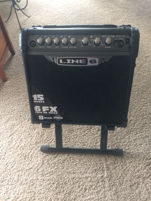 Line 6 (Spider III) Guitar amp w/stand for Sale in Manson, WA