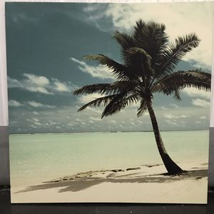 Paradise Beach wallhanger print 3' x 3' - $75 for Sale in Miami, FL