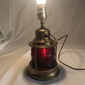 Nautical Marine Lamp ( Electric) 1950's for Sale in Mesa, AZ