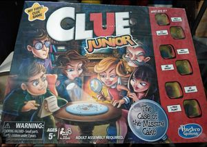 Clue Jr. Board Game for Sale in Albuquerque, NM