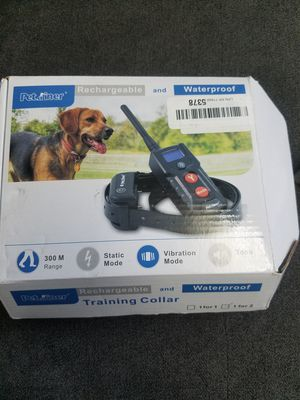 Petainer rechargeable and waterproof training collar for Sale in Hawthorne, CA