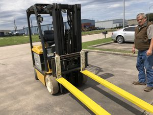 Heavy Duty Forklift Extensions!! Standard are 6 or 8 foot and fit 4-5 inch wide forks for Sale in Houston, TX