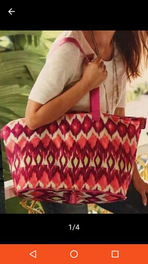 NWT🌷Chico's Large Packable Zipper Tote Bag for Sale in Fort Worth, TX