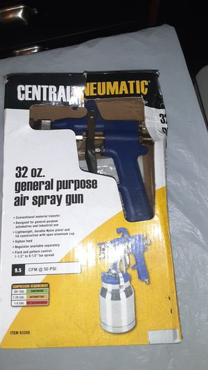Central pneumatic General all-purpose paint sprayer for Sale in Vancouver, WA