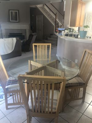 Dinning table 4 chairs 4 ft for Sale in Carrollton, TX