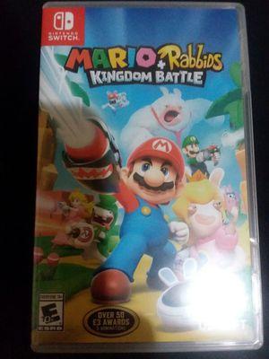 Mario+Rabbids Kingdom Battle - Nintendo Switch for Sale in Concord, VA