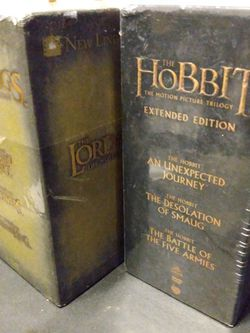 Lord Of The Rings & The Hobbit DVD Trilogies for Sale in Philadelphia,  PA