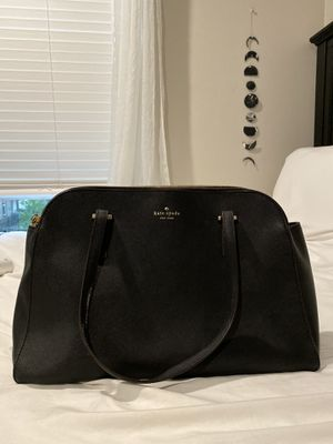 KATE SPADE black leather purse (really good condition) for Sale in San Diego, CA