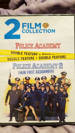 Police Academy & Police Academy 2 Dvd for Sale in Itasca, IL