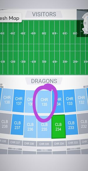 50 YD LINE Lower Level Charter Club Seats!!! XFL Seattle Dragons Tickets | SEC135 for Sale in Seattle, WA