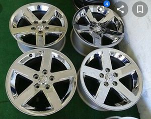 "20"" Dodge Ram 1500 Sport Wheels, Chrome Rims for Sale in Saint James, NY"