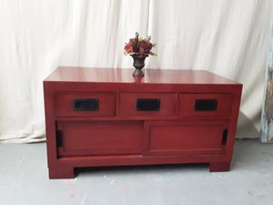Red Coffee Table. for Sale in Raleigh, NC