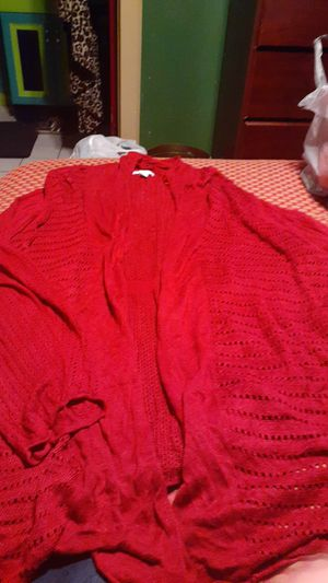 Womanes size 4x throw sweater for Sale in San Antonio, TX