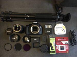 Cannon T6 DSLR Camera Starter Kit Bundle for Sale in Miami, FL