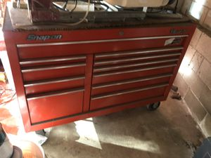 Snap on tool box and cart for Sale in Los Angeles, CA