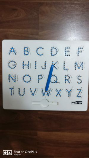 Magnetic pen alphabet tracing board for Sale in Minneapolis, MN
