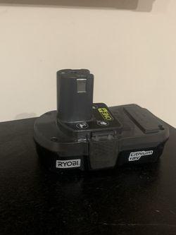 Ryobi 18v Battery for Sale in Garden Grove,  CA