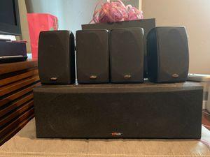 Denon receiver / Polk audio surround sound system for Sale in Denver, CO