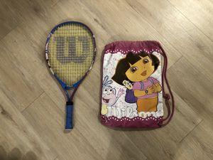 Wilson Tennis Racket - Dora the Explorer - kids for Sale in Avon, CT