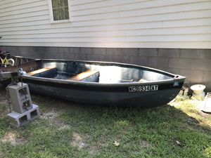 14ft boat motor and trailer for Sale in Rock Hill, SC