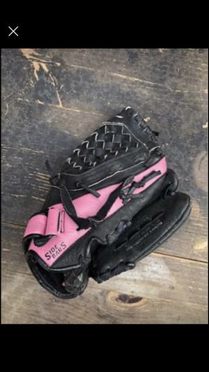 """Mizuno Prospect 11"""" Fast Pitch Softball Glove good pink & black lefthanded for Sale in Centennial, CO"""