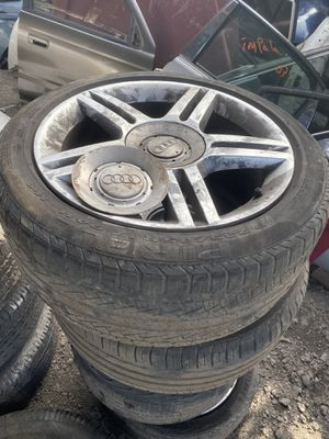 2007 Audi rims and tires for Sale in Miami Gardens, FL