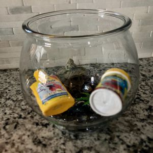 Fish bowl with accessories for Sale in Chicago, IL