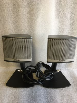 Bose companion 3 Satellite Speakers. Very good working condition. for Sale in Alameda, CA