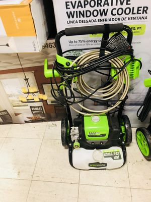 Green works 1800 pressure washer $70 for Sale in Las Vegas, NV