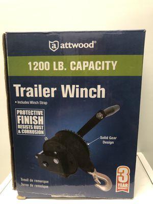 Boat trailer Winch 1200lbs (boat, marine, boat parts) for Sale in Tamarac, FL