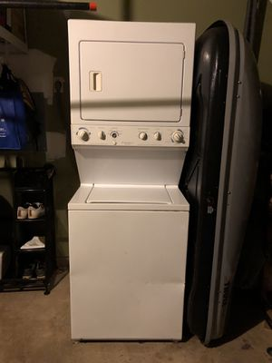 Fridgeaire stackable washer and dryer for Sale in Gaithersburg, MD