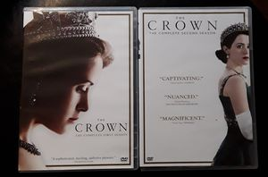 The Crown DVDs Seasons 1&2 for Sale in Anchorage, AK