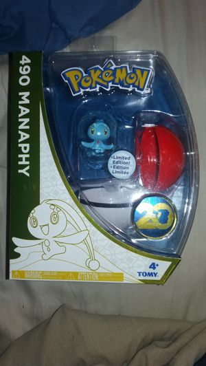 Pokemon 20 Manaphy collectible for Sale in Sacramento, CA