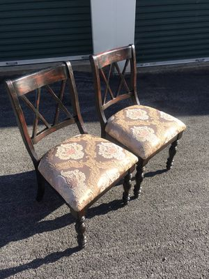 Set of 2 farmhouse chairs for Sale in Purcellville, VA