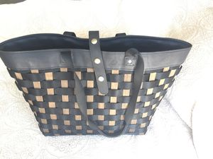 Longaberger basket large shoulder tote bag for Sale in Garden Grove, CA