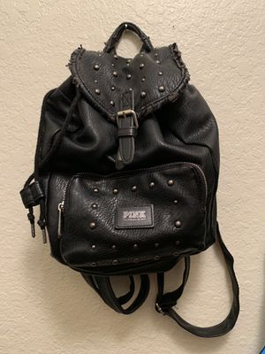 Victoria's Secret Pink - Faux Leather Backpack Purse for Sale in San Diego, CA