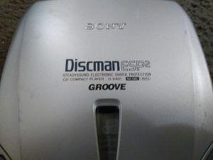 Sony D-E401 Discman CD Player for Sale in Chicago, IL