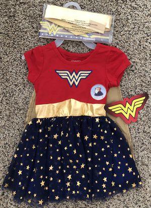 2T Girl Wonder Women Halloween Costume Dress New for Sale in Las Vegas, NV