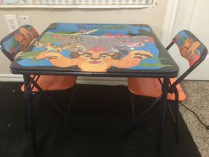 Kids table chair set for Sale in Garland, TX